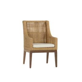 Peninsula Arm Chair with Cushion by Summer Classics