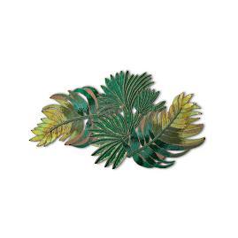 Beaded Palm Leaf Table Runner