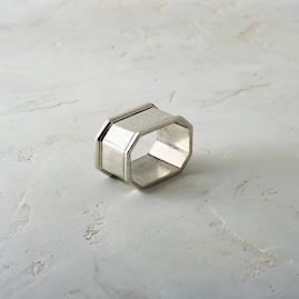 Arte Italica Peltro Napkin Rings, Set of Four