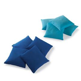 Additional Blue/Aqua Bean Toss Bags, Set of Eight