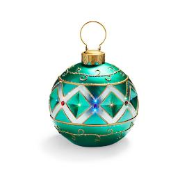 Fiber Optic LED Green Ornament