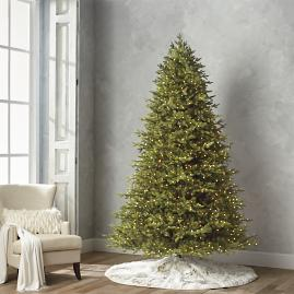 Estate Noble Fir Quick Light LED 9' Full