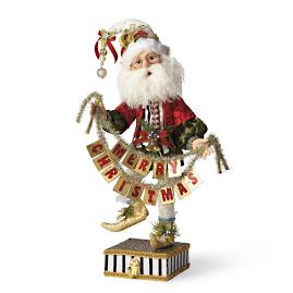 Mark Roberts Merry Christmas Elf Stocking Holder