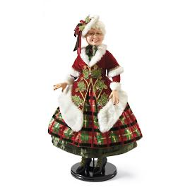 Doll-size Traditional Mrs. Claus by Katherine's Collection
