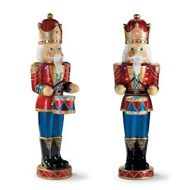 "61"" LED Nutcrackers, Set of Two"