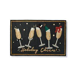 Holiday Cheers Entry Mat