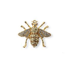 Jeweled Bee Clips, Set of Six