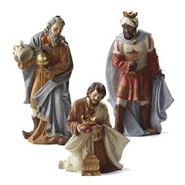 Outdoor Nativity Kings, Set of Three