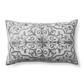 Jolene Embroidered Lumbar Decorative Pillow
