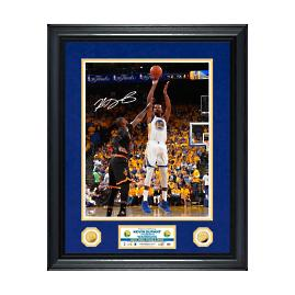 Kevin Durant Autographed 2017 NBA Finals MVP Photo