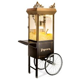Old-time Popcorn Popper w/Cart
