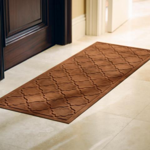 low profile trellis microfibers door mat frontgate. Black Bedroom Furniture Sets. Home Design Ideas