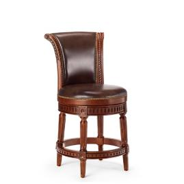 Manchester Swivel Counter Height Backless Bar Stool 24 Quot H