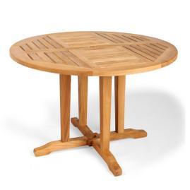 Cassara Rectangular Extending Dining Table in Natural Finish