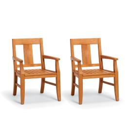 Melbourne Set of Two Dining Arm Chairs