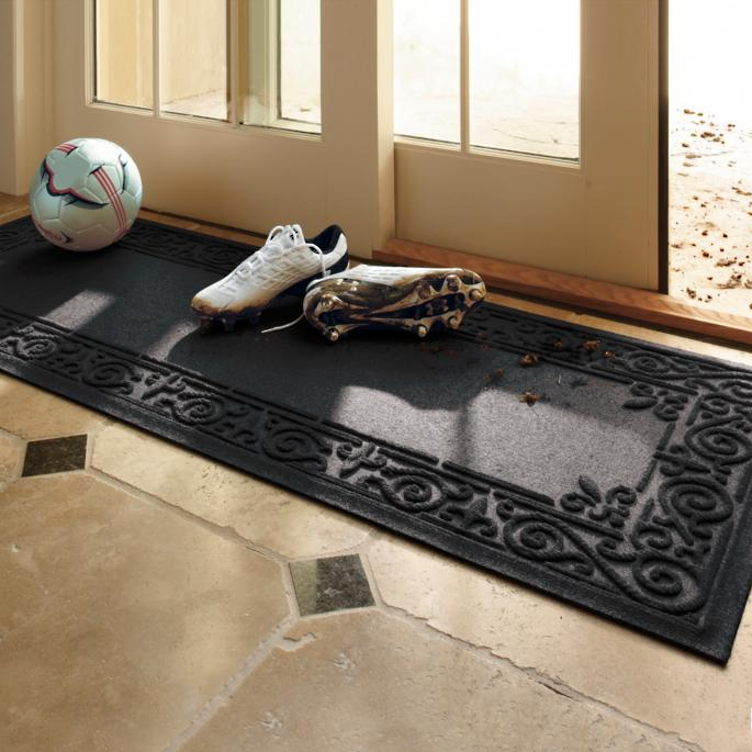 Water Amp Dirt Shield Fleur De Lis Mat Frontgate