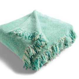 Outdoor Throw in Sunbrella® Tiffany Blue