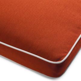 Teak Storage Bench Cushion
