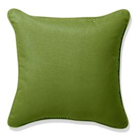 Outdoor Lumbar Pillow in Sunbrella® Gingko