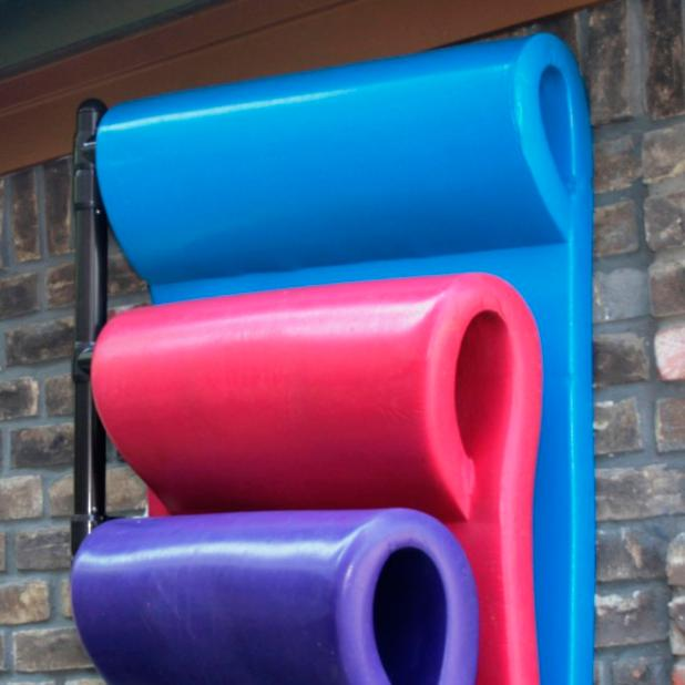 Three Float Hanging Pool Rack