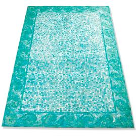 Wave Mosaic Outdoor Area Rug