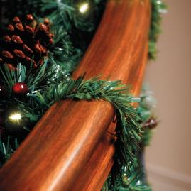 Set of 20 Faux-pine Garland Ties
