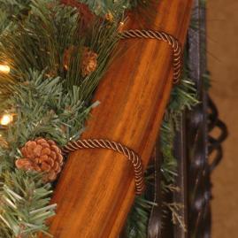 Set of Six Decorative Garland Ties