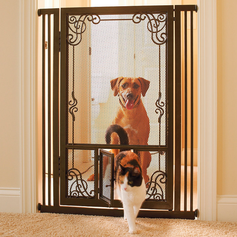 Steel Pet Gate Frontgate
