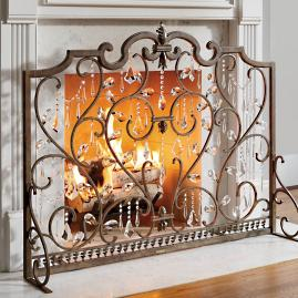 Louviere Fire Screen