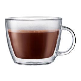 Bodum 15 oz. Double Wall Latte Mugs, Set