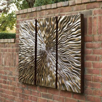 Outdoor decor wall art room ornament for Outside wall art