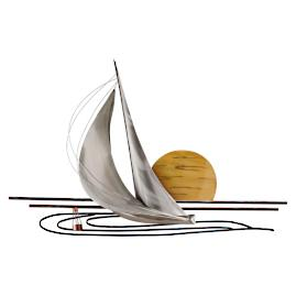 Sunset Sail Wall Decor by Copper Art