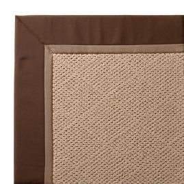 Outdoor Parkdale Rug in Sunbrella® Cocoa White Wicker