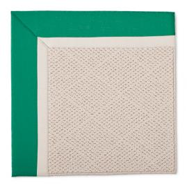 Outdoor Parkdale Rug in Sunbrella Jade White Wicker