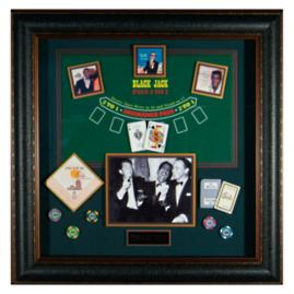 The Rat Pack Blackjack Shadowbox