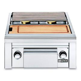 Lynx Built-in Double Side Burner with Prep Counter