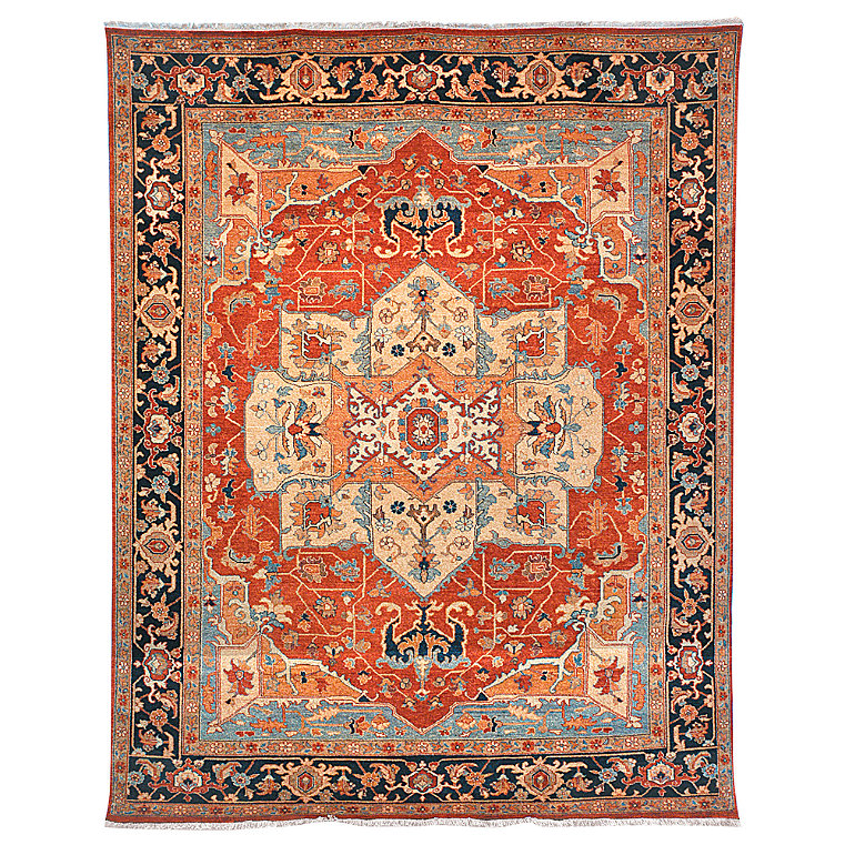 Geometric Woven Area Rug Frontgate