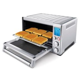 Wolf gourmet four slice toaster frontgate for Wolf toaster oven
