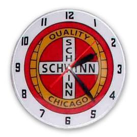 Schwinn Double Bubble Clock