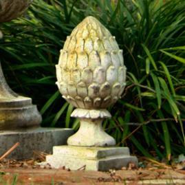 Artichoke Finial Outdoor Statue