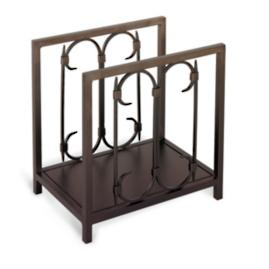 Iron Gate Wood Rack