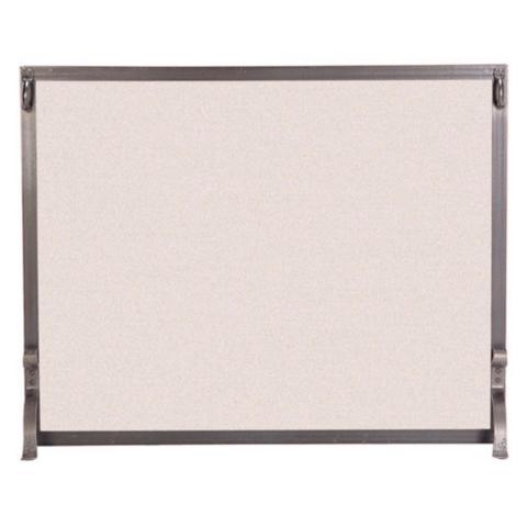 Custom Large Indoor Forged Iron Fireplace Screen - Custom Indoor Forged Iron Fireplace Screen - Frontgate