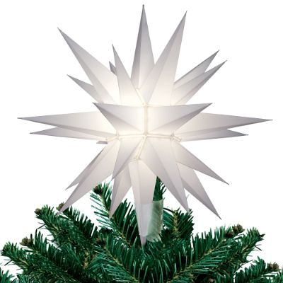 Lighted Star Christmas Tree Topper Frontgate
