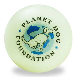 Orbee-Tuff &#174 Glow for Good Ball for Dogs