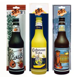 Set of Three Beer Bottle Toys