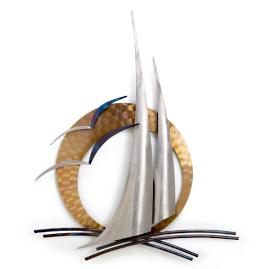 Sail'n Outdoor Wall Art by Copper Art