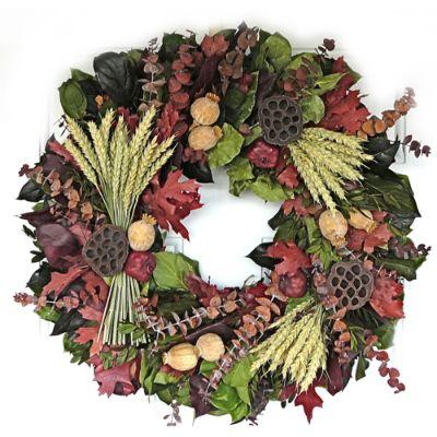 Abundant Harvest Wreath Frontgate