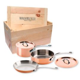 Mauviel M'Heritage Copper 5-pc. Cookware Set