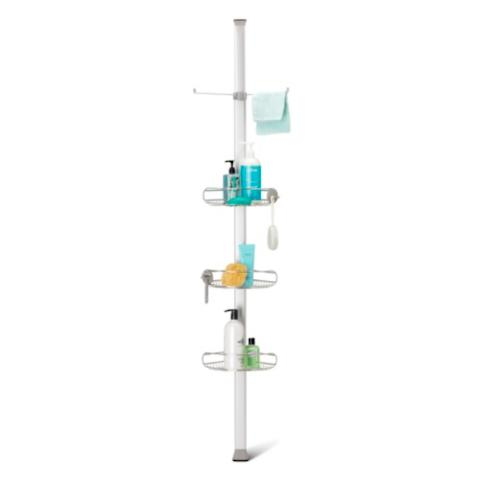 simplehuman vertical tension shower caddy