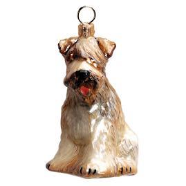 Soft Coat Wheaton Terrier Dog Ornament